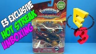 E3 Exclusive Hot Streak Unboxing [Skylanders SuperChargers] - E3 2015