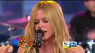 Avril Lavigne - Let Me Go @ Good Morning America (5/11)