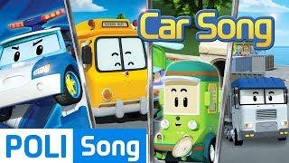 ♫ Poli Kids Song Compilation | Robocar Poli Car Song