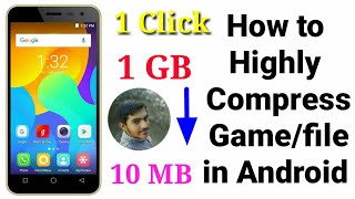 How to Highly Compress Files/games In android Mobile |Top Secret Revealed|Suraj pardeshi |