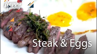 Resep Mudah Masak Steak & Egg | Happy Tummy #7