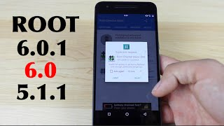 How To ROOT Android 6.0.1, 6.0, 5.1.1 Systemless Root