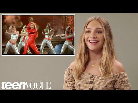 Xxx Mp4 Maddie Ziegler Tries Iconic Music Video Dances Teen Vogue 3gp Sex