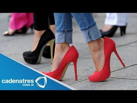 ¿Cómo caminar con tacones altos Tips para saber caminar en tacones correctamente