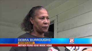 Mother Found Dead Inside Home
