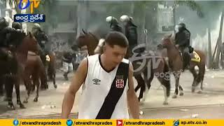 Riots After Football Match | in Brazil