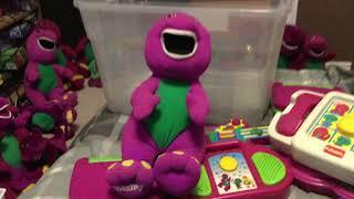 Talking Barney 1992/1993 Playskool