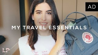MY TRAVEL ESSENTIALS | Lily Pebbles