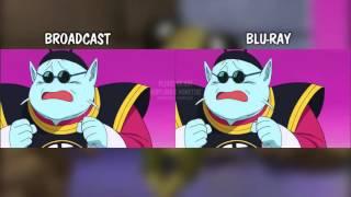 Dragon Ball Super Episode 5 Animation Comparison