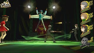 Persona 4 Golden: Shadow Naoto Boss Fight (Very Hard)