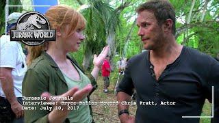Jurassic World: Fallen Kingdom |Bryce Interviews Chris| Now on 4K, Blu-ray, DVD & Digital