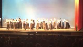 Long Black Skirt Dance