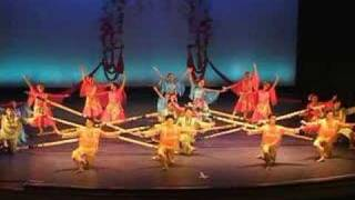 BAYANIHAN PHILIPPINE DANCE  TINIKLING  LEYTE DANCE THEATRE; boston photographer video