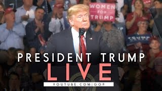 LIVE: President Trump in Missoula, MT