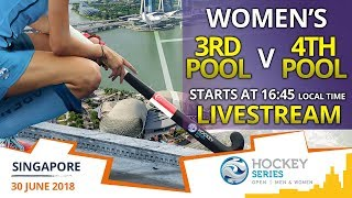 Kazakhstan v Singapore | 3rd Pool v 4th Pool | Women's Hockey Series Open Singapore | LIVESTREAM