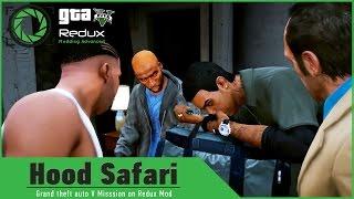 GTA 5 on Redux Graphics and Euphoria: Hood Safari/DrugDeal Neighborhood Gunfight Mission/Gameplay