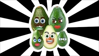 Fruits Finger Family Collection | Learn Fruits | Avocado Finger Family | Nursery Rhymes