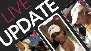 Nene Leakes Shares Live Footage Inside Gregg's Hospital Room | Full IG Live Video