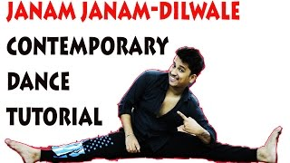 Janam Janam Dance Tutorial Contemporary Style 2015