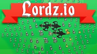 The ULTIMATE Medieval DRAGON Army! - Lordz.io Gameplay