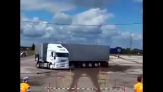 Professional truck driver!