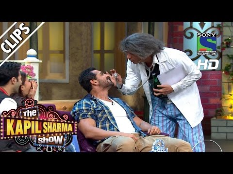 Xxx Mp4 Dr Gulati Performing Tooth Test On John Abraham The Kapil Sharma Show Episode 27 23rd July 2016 3gp Sex