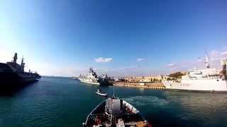 Marina Militare - Con Nave Libra in navigazione da Messina a Taranto