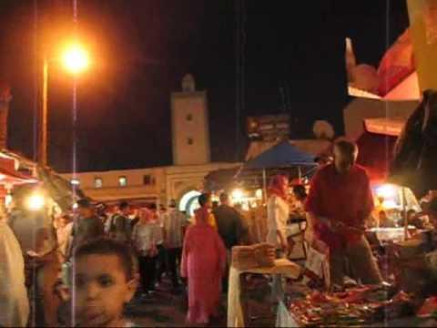 Kasbah mohammedia by night