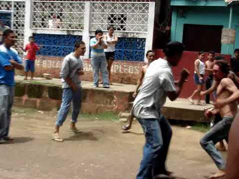 la mejor pelea callejera de nicaragua