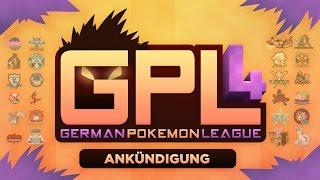 German Pokémon League [GPL] Season 4 - Ankündigung!