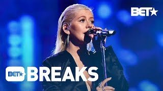 The Internet Drags Christina Aguilera Over Whitney Tribute - BET Breaks