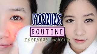 My Morning Skincare Routine + Everyday Makeup