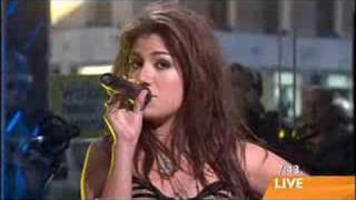 Gabriella Cilmi - Sweet About Me  Live   on Sunrise