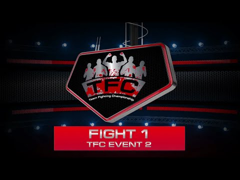 Fight 1 of the TFC Event 2 San-Da LPF (Riga, Latvia) vs GPG (New York, USA)