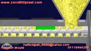 Plastic Injection Molding شرح لماكينات الحقن