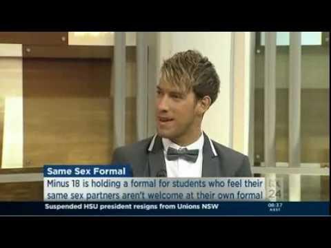 Xxx Mp4 Micah Scott Discusses Minus18 Same Sex Formal On ABC 3gp Sex