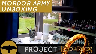 Project LoTR episode 1: unboxing my Mordor army.