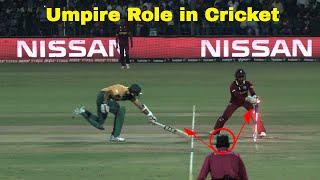 Umpire Roles in Cricket