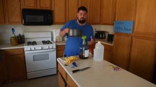 How to make mead (honey wine) with no special equipment in under 30 minutes