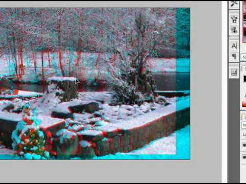 How to make 3D Anaglyph Images using Photoshop