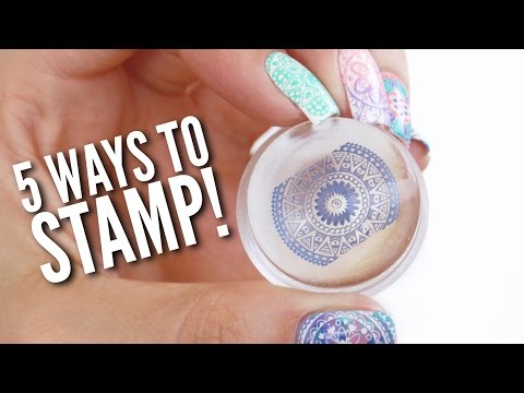 Xxx Mp4 5 Different Ways To Use A Nail Stamper 3gp Sex