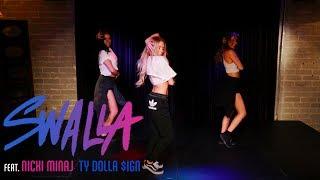 "Jason Derulo - ""Swalla"" Feat. Nicki Minaj and Ty Dolla $ign (Dance tutorial) | Mandy Jiroux"