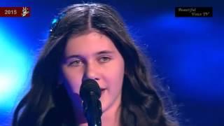 Sabina.'Run to You'.The Voice Kids 2015.