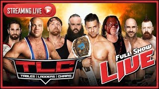 WWE TLC:Tables Ladders and Chairs 2017 Live Full Show October 22nd 2017 Live Reactions
