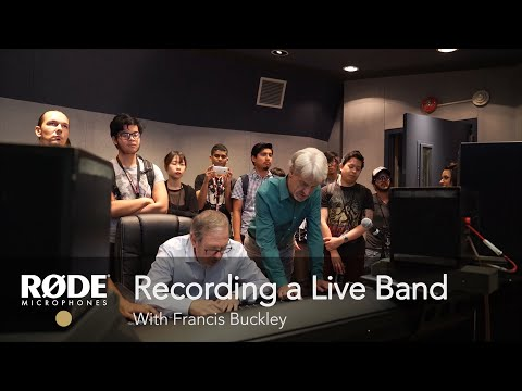 Download Recording a Live Band with Francis Buckley