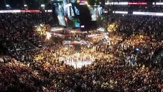 Floyd Mayweather Entrance at Mayweather vs. McGregor in T-Mobile Arena