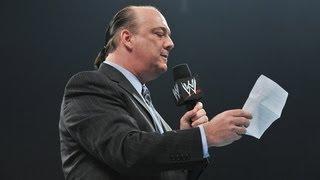 Brock Lesnar quits WWE: Raw, May 7, 2012