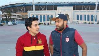 مواجهة بين محب من النادي الإفريقي ومحب من الترجي الرياضي التونسي