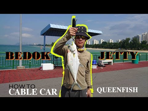 Bedok Jetty Fishing: How to Cable Car