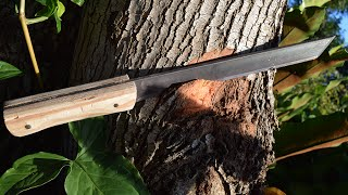 How to make a fighting knife
